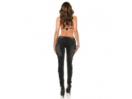 KOUCLA ŽENSKE KAVBOJKE PUSH UP -353-JEANS BLACK