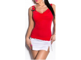 SEKSI KOUCLA TOP - RED
