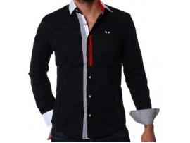 CARISMA SLIM FIT SRAJCA 8036 BLACK