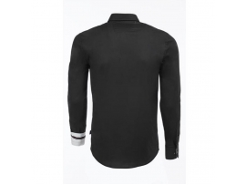 CARISMA SLIM FIT SRAJCA STAND UP COLLAR BLACK