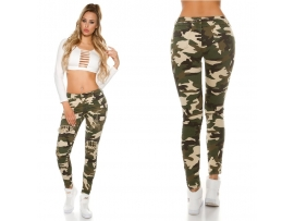 CAMOUFLAGE JEANS ARMY