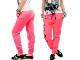CHICK REBELLE WOMEN JOGGING PANTS PINK