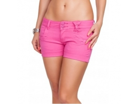HELLO MISS SHORTS SKINNY PINK