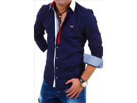 CARISMA SLIM FIT SRAJCA 8350 NAVY