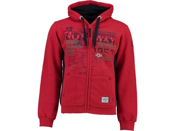 GEOGRAPHICAL NORWAY JOPICA S KAPUCO GABATEL RED