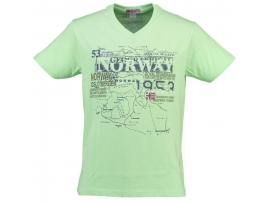GEOGRAPHICAL NORWAY MOŠKA KRATKA MAJICA JACCA GREEN