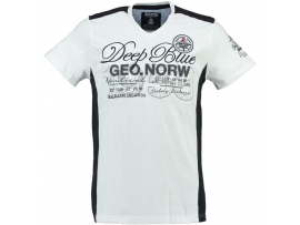 GEOGRAPHICAL NORWAY MOŠKA KRATKA MAJICA JANFIELD WHITE