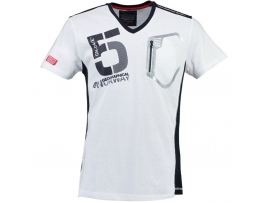 GEOGRAPHICAL NORWAY MOŠKA KRATKA MAJICA JAVIAR WHITE