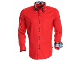 CARISMA SLIM FIT SHIRT H-110 RED
