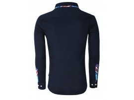 CARISMA SLIM FIT SRAJCA H-110 NAVY