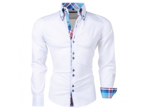 CARISMA SLIM FIT SRAJCA H-110 WHITE