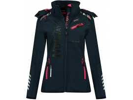 GEOGRAPHICAL NORWAY ŽENSKA SOFTSHELL JAKNA REVEUSE NAVY