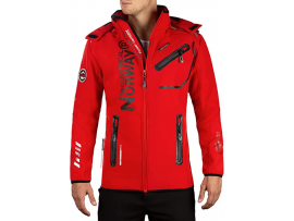 GEOGRAPHICAL NORWAY SOFTSHELL JAKNA ROYAUTE BS RED