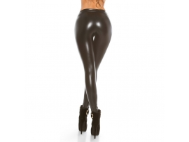 THERMO WETLOOK LEGGINS ANTHRACITE