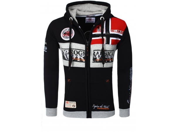 GEOGRAPHICAL NORWAY JOPICA S KAPUCO FLYER BLACK