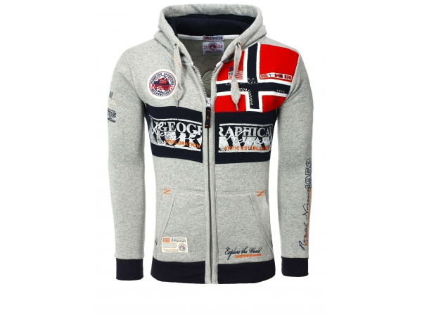 GEOGRAPHICAL NORWAY JOPICA S KAPUCO FLYER GREY