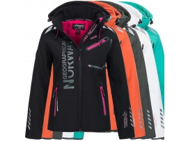 GEOGRAPHICAL NORWAY ŽENSKA SOFTSHELL JAKNA REVEUSE GREEN