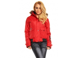 GEOGRAPHICAL NORWAY ŽENSKA BUNDA BUGSY DELUXE RED