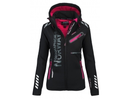 GEOGRAPHICAL NORWAY ŽENSKA SOFTSHELL JAKNA REVEUSE BLACK