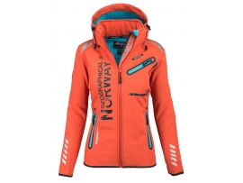 GEOGRAPHICAL NORWAY ŽENSKA SOFTSHELL JAKNA REVEUSE CORAL