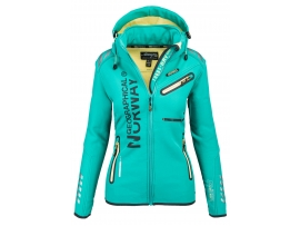 GEOGRAPHICAL NORWAY ŽENSKA SOFTSHELL JAKNA ROMANTIC GREEN