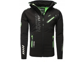 ELEGANTNA MOŠKA GEOGRAPHICAL NORWAY SOFTSHELL JAKNA ROYAUTE BLACK