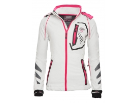 GEOGRAPHICAL NORWAY ŽENSKA SOFTSHELL JAKNA TOUCH WHITE