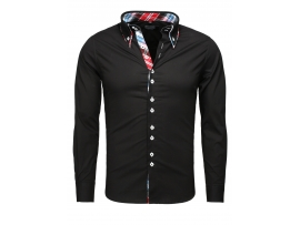 CARISMA SLIM FIT SRAJCA H-110 BLACK