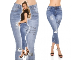 TRENDY 7/8 SKINNY JEANS NANCY