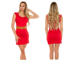 MINIDRESS RED