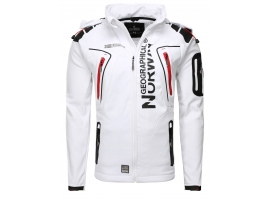 GEOGRAPHICAL NORWAY TECHNO SOFTSHELL FUNKTIONS OUTDOOR JAKNA WHITE