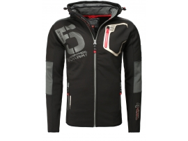 GEOGRAPHICAL NORWAY SOFTSHELL JAKNA TAVIAR BLACK