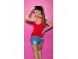 SEKSI KOUCLA TANKTOP HANDS RED