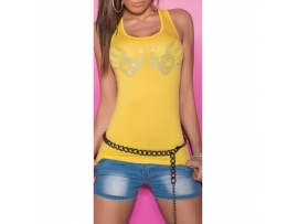 SEKSI KOUCLA TANKTOP HANDS YELLOW