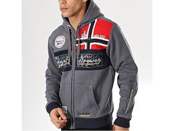 GEOGRAPHICAL NORWAY JOPICA S KAPUCO FLYER DARK GREY