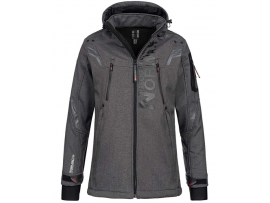 GEOGRAPHICAL NORWAY TALENTUEUX  SOFTSHELL BLENDED BLACK