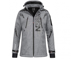 GEOGRAPHICAL NORWAY TALENTUEUX  SOFTSHELL BLENDED GREY