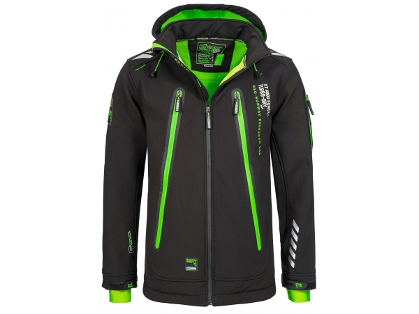 GEOGRAPHICAL NORWAY TARZAN SOFTSHELL BLACK