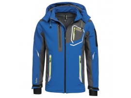 ELEGANTNA MOŠKA GEOGRAPHICAL NORWAY SOFTSHELL JAKNA TIXON 2018 ROYAL BLUE