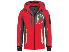 ELEGANTNA MOŠKA GEOGRAPHICAL NORWAY SOFTSHELL JAKNA TIXON 2018 RED